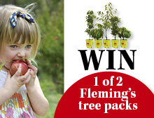 Win a Fleming's tree voucher