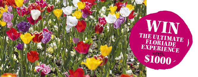 Win the ultimate Floriade experience for you and a friend.