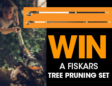 WIN a Fiskars Tree Pruning Set