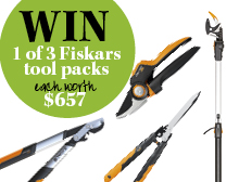 Win a Fiskars pruning set