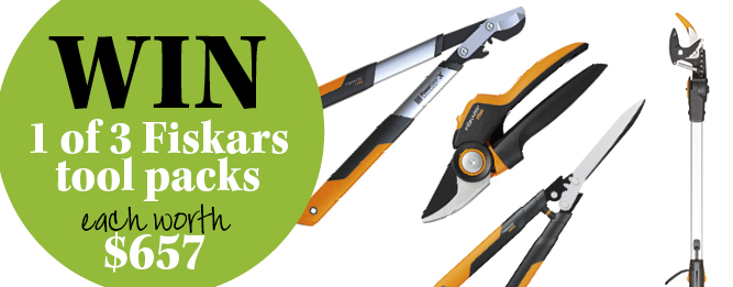 Win a Fiskars pruning set