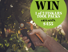 Win a Fiskars pruning tool pack worth $455 small