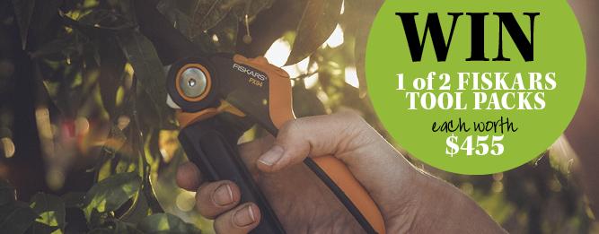 Win a Fiskars pruning tool pack worth $455
