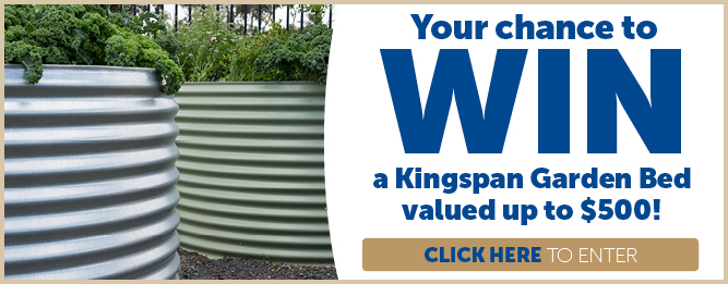 WIN a Kingspan Garden Bed worth up to $500