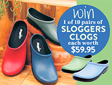 Win a pair of Sloggers Clogs