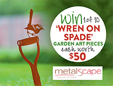 Win a piece of garden art