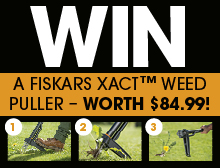 Win a weed puller worth $84.99