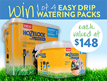 Win a Hozelock Easy Drip watering pack