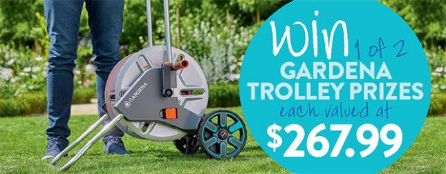 Win a Gardena trolley prize
