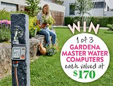 Win a Gardena Master Water Computer