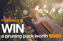 Gardening Australia Fiskars Competition Oct 20