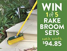 Win a Rake Broom set
