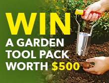 WIN a garden tool pack worth $500