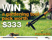 Win a gardening tool pack