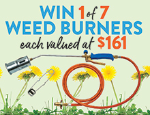 Win a Shields Weed Burner