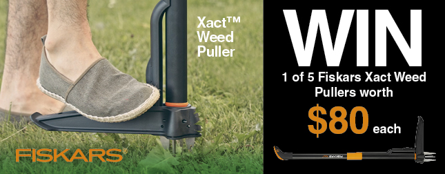 Win 1 of 5 Weed Pullers worth $74 each